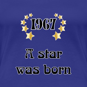 1967 - a star was born T-shirts - Premium-T-shirt dam