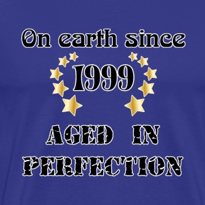 on earth since 1999 T-shirts - Mannen Premium T-shirt