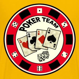 poker team design 6 Tee shirts - T-shirt Premium Homme