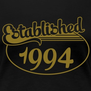 Birthday-Shirt - Geburtstag - Established 1994 (no) T-skjorter - Premium T-skjorte for kvinner