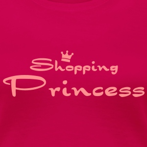 Shopping Princess T-Shirts - Frauen Premium T-Shirt