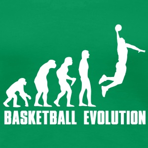 Basketball Evolution Dunk T-Shirts - Frauen Premium T-Shirt