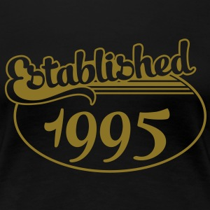 Birthday-Shirt - Geburtstag - Established 1995 (uk) T-Shirts - Women's Premium T-Shirt