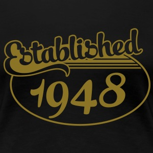 Birthday-Shirt - Geburtstag - Established 1948 (it) T-shirt - Maglietta Premium da donna