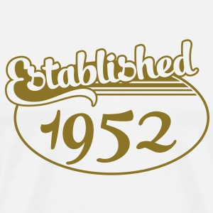 Birthday-Shirt - Geburtstag - Established 1952 (fr) Tee shirts - T-shirt Premium Homme