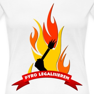 Pyrotechnik legalisieren for Girls - Frauen Premium T-Shirt