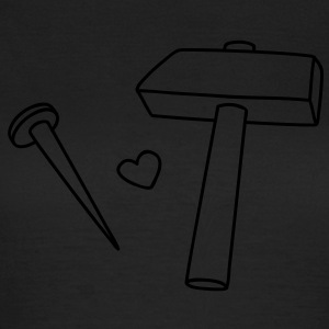 I love my hammer T-shirts - Vrouwen T-shirt