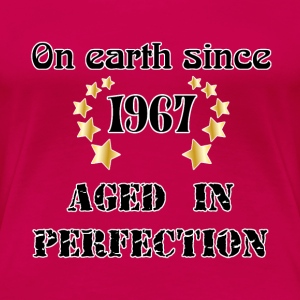 on earth since 1967 T-Shirts - Women's Premium T-Shirt