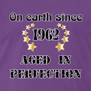 on earth since 1962 T-shirts - Herre premium T-shirt