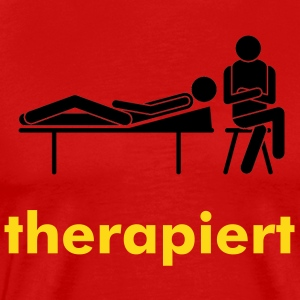 therapiert - Männer Premium T-Shirt