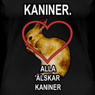 Design ~ Kaniner T-shirt (Woman)