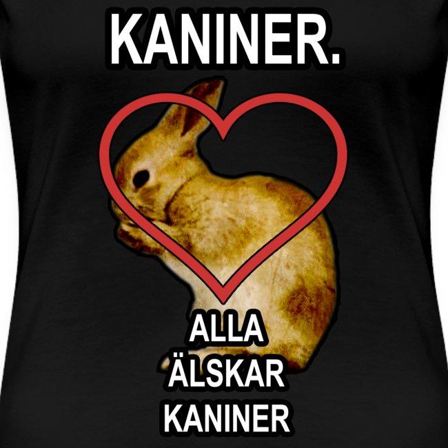 Kaniner T-shirt (Woman)