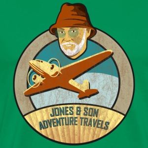 Jones Adventure Travels, Colour T-Shirts - Männer Premium T-Shirt