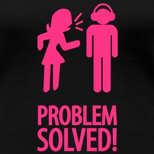 problem solved! T-Shirts - Women's Premium T-Shirt
