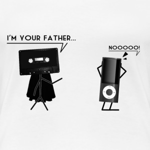 I'm your father... Tee shirts - T-shirt Premium Femme