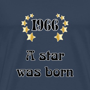 1966 - a star was born T-shirts - Herre premium T-shirt