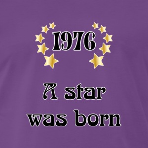 1976 - a star was born Tee shirts - T-shirt Premium Homme