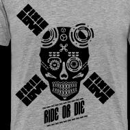 Motif ~ ride or die skull bike