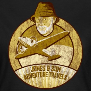 Jones Adventure Travels, Sepia T-Shirts - Frauen T-Shirt
