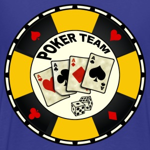 poker team design 7 Tee shirts - T-shirt Premium Homme