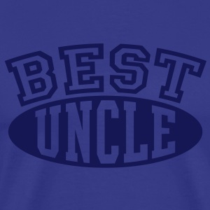 BEST UNCLE T-Shirt NS - Mannen Premium T-shirt