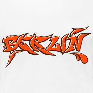 Graffiti Berlin - Frauen Premium T-Shirt
