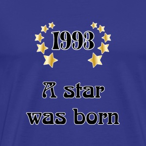 1993 - a star was born Tee shirts - T-shirt Premium Homme
