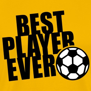 BEST PLAYER EVER 2C T-Shirt BA - Herre premium T-shirt