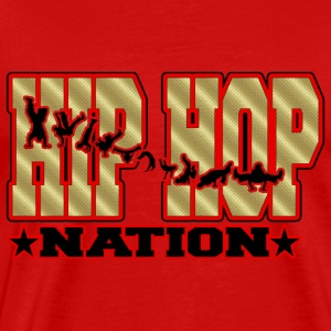 hip hop nation Tee shirts - T-shirt Premium Homme