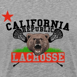 California Republic Lacrosse T-Shirts - Men's Premium T-Shirt