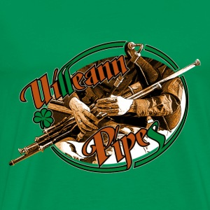 uillean pipes - Men's Premium T-Shirt