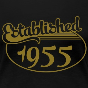 Birthday-Shirt - Geburtstag - Established 1955 (it) T-shirt - Maglietta Premium da donna