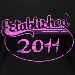 established 2011 (es) Camisetas - Camiseta premium mujer