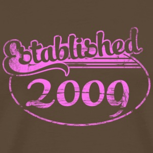 established 2009 (uk) T-Shirts - Men's Premium T-Shirt