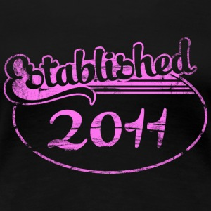 established 2011 (sv) T-shirts - Premium-T-shirt dam