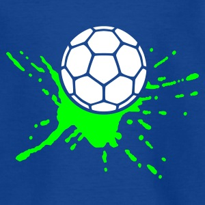 Royalblau Ball Splash Kinder T-Shirts - Teenager T-Shirt