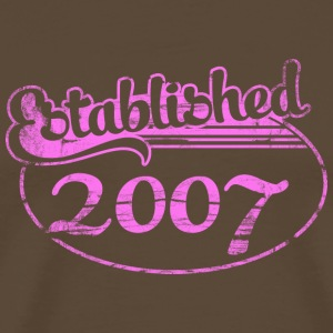 established 2007 (sv) T-shirts - Premium-T-shirt herr