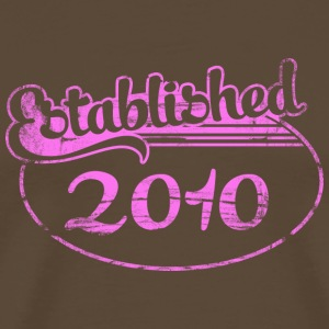 established 2010 (sv) T-shirts - Premium-T-shirt herr
