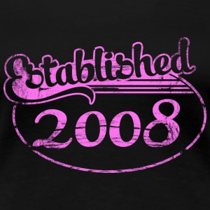 established 2008 (es) Camisetas - Camiseta premium mujer