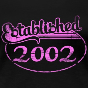 established_2002_dd (es) Camisetas - Camiseta premium mujer