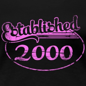 established_2000_dd (es) Camisetas - Camiseta premium mujer