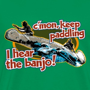 i_hear_the_banjo T-Shirts - Men's Premium T-Shirt
