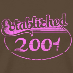 established_2001_dd (es) Camisetas - Camiseta premium hombre