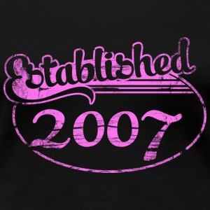 established 2007 (es) Camisetas - Camiseta premium mujer