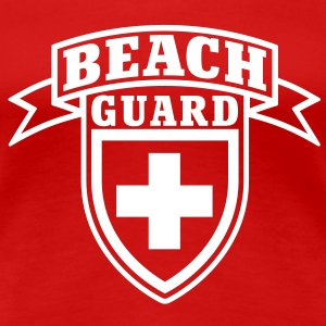 Beach Guard T-Shirts - Premium-T-shirt dam