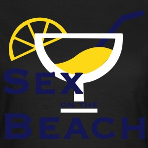 Sex on the Beach - mit oder ohne Cocktail - Frauen T-Shirt