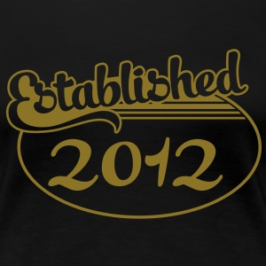 Birthday-Shirt - Geburtstag - Established 2012 (no) T-skjorter - Premium T-skjorte for kvinner