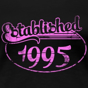 established 1995 dd (es) Camisetas - Camiseta premium mujer
