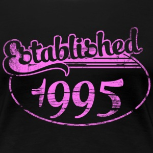Geburtstag - established 1995 dd (de) T-Shirts - Frauen Premium T-Shirt