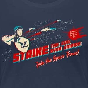 Join the Space Force (darkshirt) T-Shirts - Frauen Premium T-Shirt